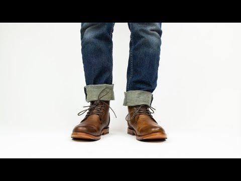 Men's | Alder Honey Leather Boots