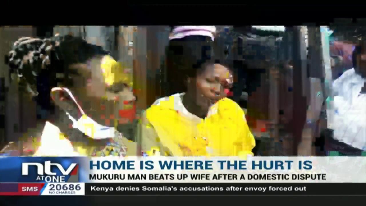 Download GBV: Mukuru man beats up wife after domestic dispute