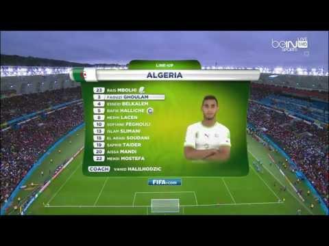 World Cup 2014 Germany Vs. Algeria 1st Half In Arabic