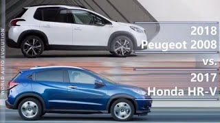 Welcome to the video comparison between 2018 Peugeot 2008 vs 2017 H...