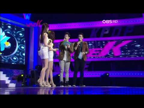 111016 Davichi-Don't Say GoodBye+Talk+Love Oh Love @OBS Wave Kpop