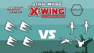 X Wing 2nd Edition   Campaign Against Cancer @ Cool Stuff Games Jacksonville, Fl   Rnd 4