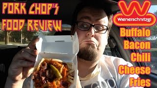 Pork Chop's Food Review: Wienerschnitzel's Buffalo Bacon Chili Cheese Fries