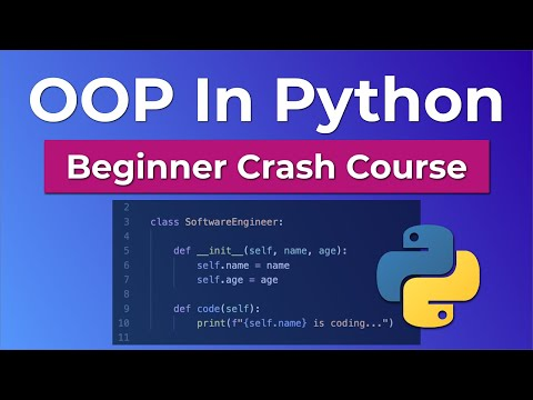 Object Oriented Programming (OOP) In Python - Beginner Crash Course