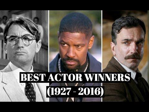 Every Best Actor Winner (1927 - 2016)