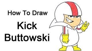 How to Draw Kick Buttowski