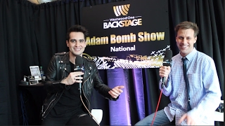 Brendon Urie Backstage at The Grammys!