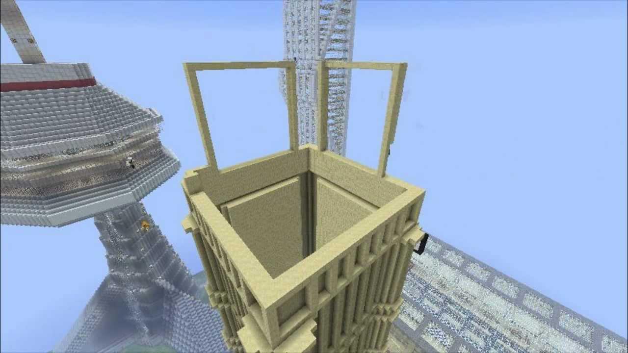 Minecraft big ben build time lapse youtube malvernweather Choice Image