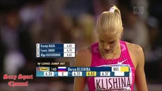 DARYA IGOREVNA KLISHINA  The Most Beautiful Long Jumper 2017