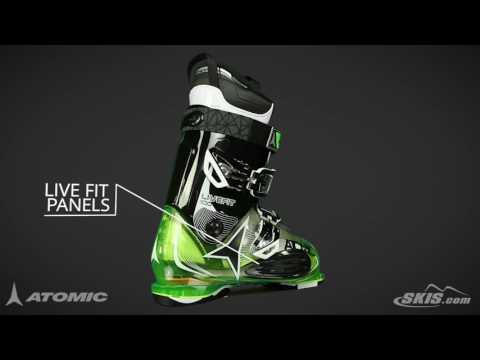 2017 Atomic Live Fit 100 Mens Boot Overview by SkisDotCom