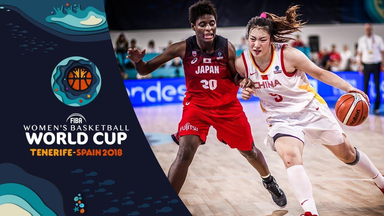 China v Japan - Highlights - FIBA Women's Basketball World Cup 2018