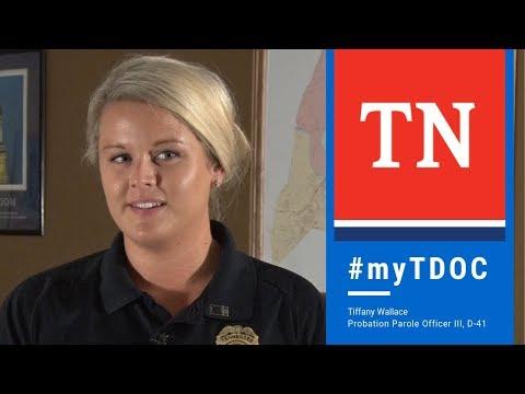 MyTDOC: Probation & Parole Officer, Tiffany Wallace