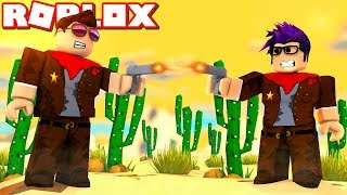 The Duel in THE WILD WEST! -Roblox Time Travel Adventures Ep 6 Danish with ComKean