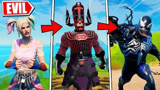 Everytime I Die, I Pretend to be a SUPER VILLAIN (Fortnite)