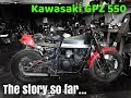 KAWASAKI 1983 GPZ 550 BUILD