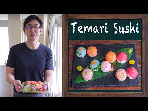 Spin Off版-Temari 手鞠壽司/Temari Sushi |MASAの料理ABC