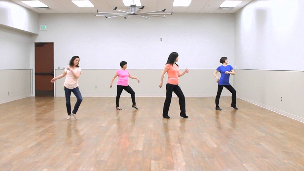 A Lesson In Love - Line Dance (Dance & Teach) - YouTube