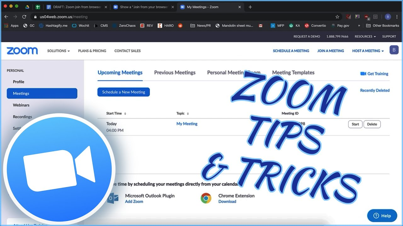 Zoom Focus Mode: How to Hide All Participant Video in Zoom Meeting | Zoom Update
