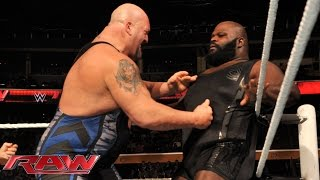 Big Show vs. Mark Henry: Raw, Nov. 3, 2014