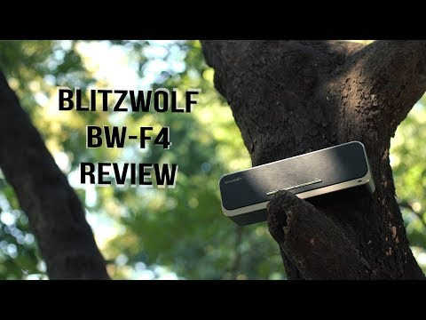 BlitzWolf BW-F4 Bluetooth Speaker Review | ATC | 4K