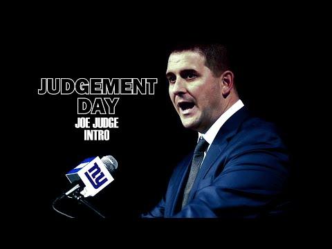 Judgment Day   Joe Judge Intro