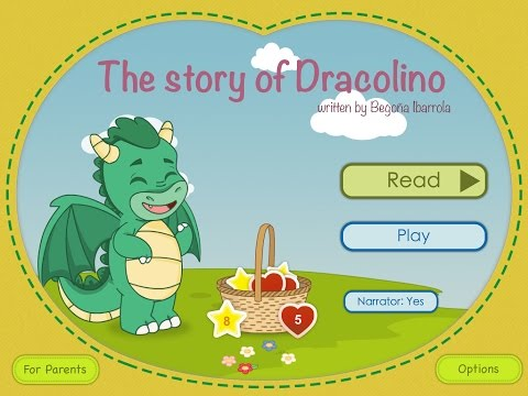 The Story of Dracolino - Technology for Emotions & Begoña Ibarrola - tale for iPad