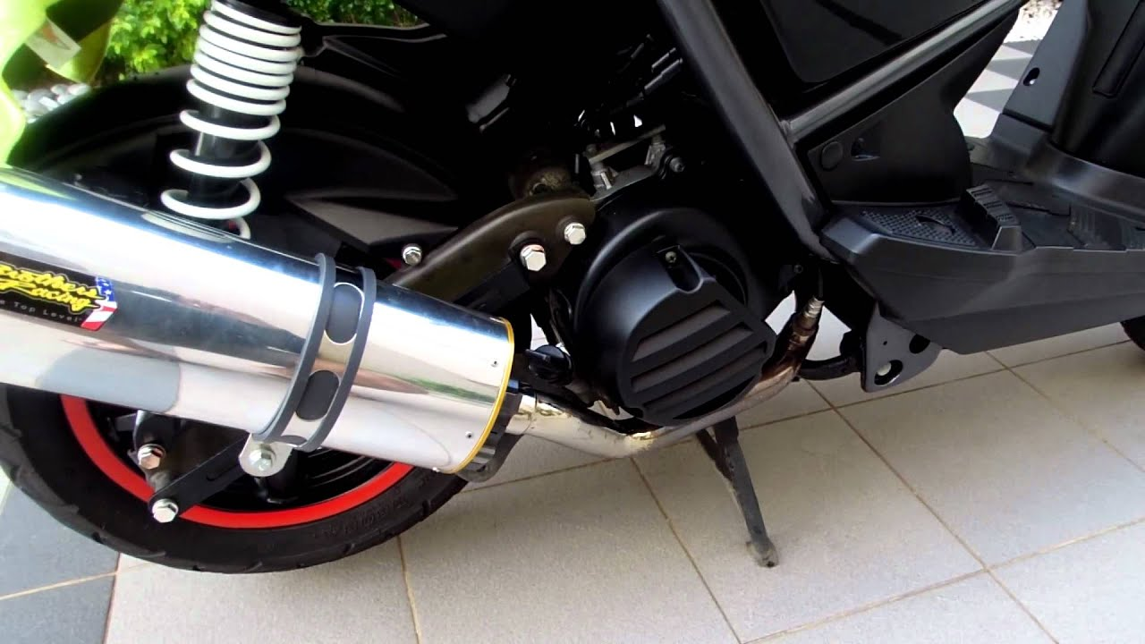 Two Brothers M-2 Exhaust System On Yamaha Zuma 125cc