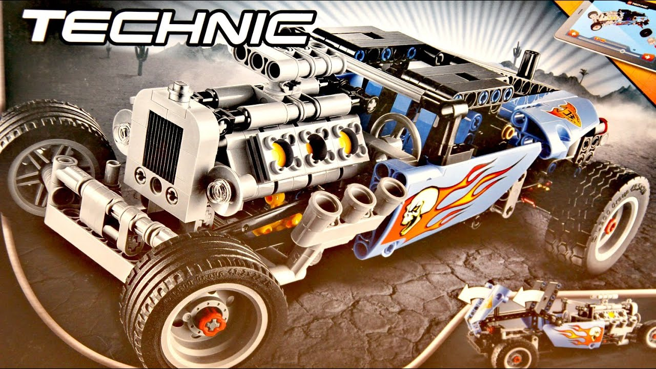 hot rod lego technic 42022 recenzja youtube. Black Bedroom Furniture Sets. Home Design Ideas