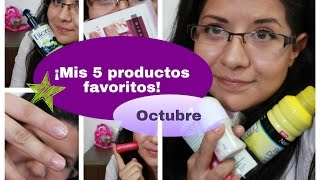 ¡Mis productos favoritos de octubre! Thumbnail