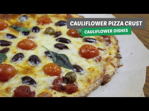 The Best Cauliflower Pizza Crust