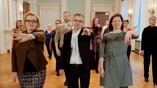 Dansande stadsdirektörer