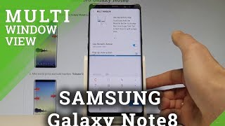 How to Use Multi Window View in SAMSUNG Galaxy Note8 |HardReset.Info