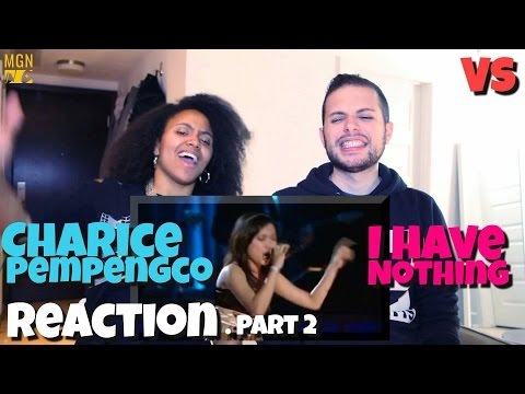 Charice Pempengco - I have nothing (Whitney Houston) - VS - Reaction Pt. 2