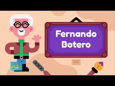 Conoce a Fernando Botero