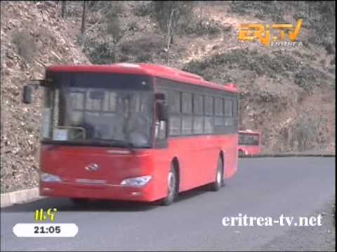 Eritrean News  Heavy machineries and buses arrive in the country