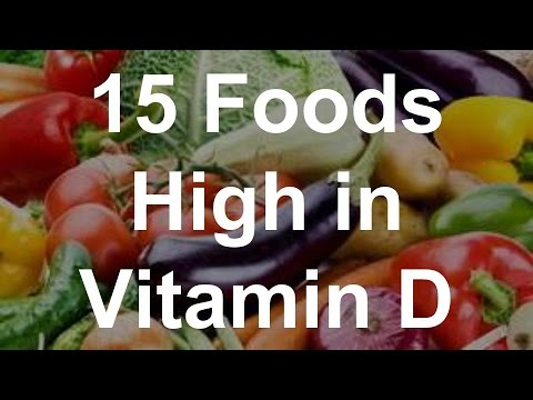 Veggies with vitamin d