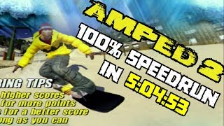 Amped 2: 100% Speedrun in 5:04:53 [outdated]