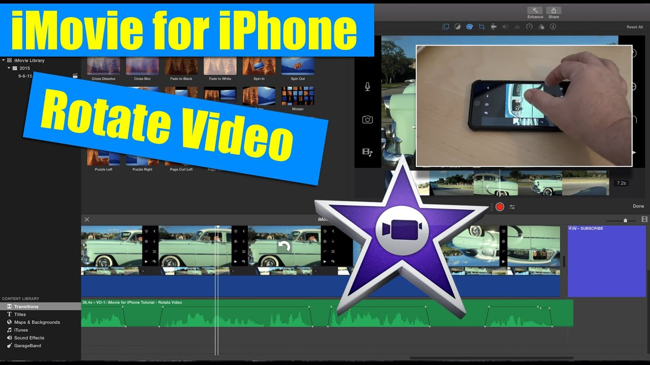 Imovie for iphone tutorial how to rotate video youtube imovie for iphone tutorial how to rotate video ccuart Gallery