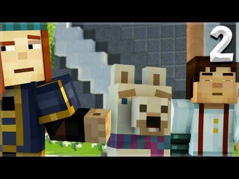 Minecraft Story Mode Season 2 Episode 1 Meet Lluna The Llama