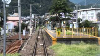 115系 1453M 富士急行線 赤坂→都留市→谷村町 前面展望