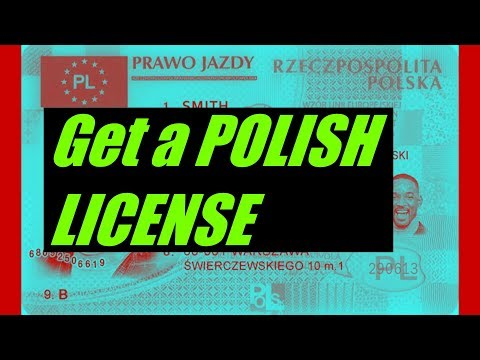 How To Get A Polish License | For Non-Polish and Foreign Citizens | LIFE IN POLAND