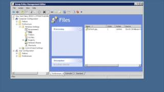 MCITP 70-640: Group Policy Preferences