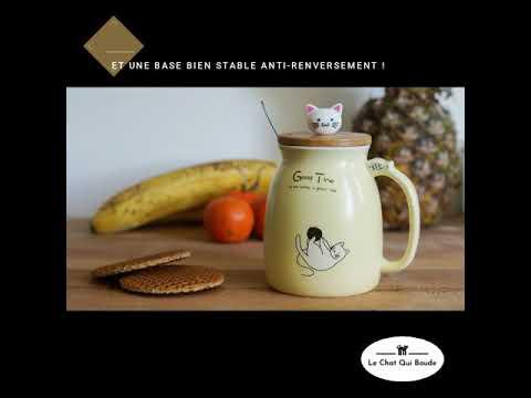 Notre GRANDE Tasse Chat - L' allié pour boire plus !