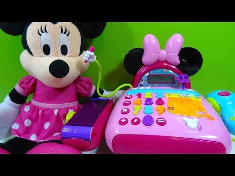 Minnie Mouse Caja Registradora Electronic Cash Register - Juguetes de Minnie