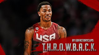Derrick Rose Full Highlights 2014.08.16 USA vs Brazil - 7 Pts, Homecoming!