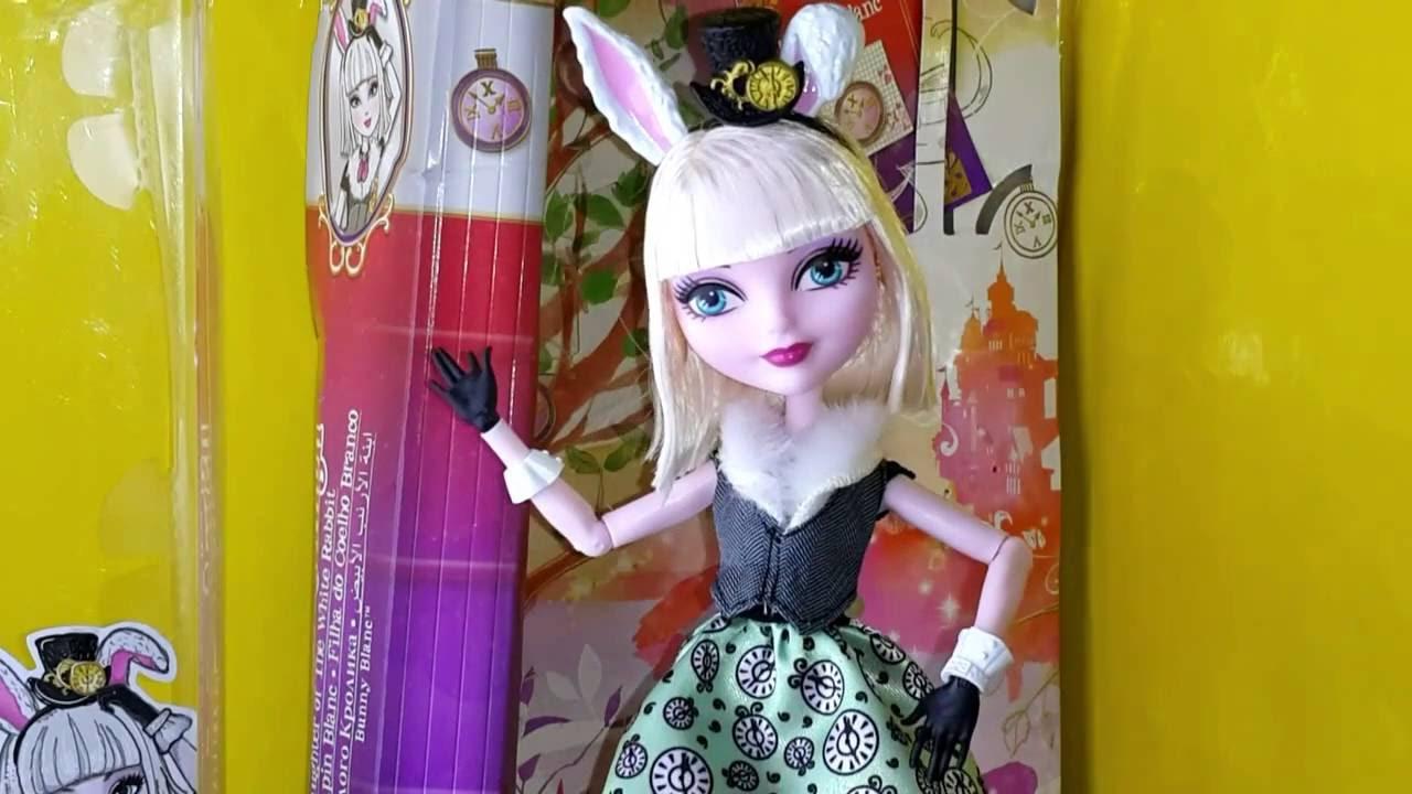 Обзор куклы Эвер Афтер Хай Эшлин Элла. Dolls review Ashlynn Ella .