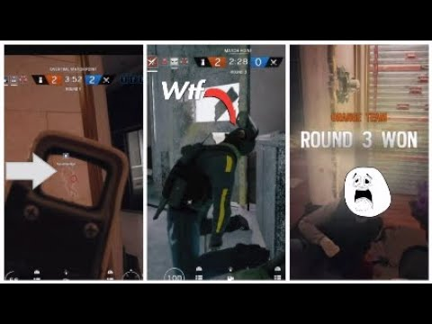 Friendly Fire Mishaps (Rainbow 6 Seige FUNNY MOMENTS)