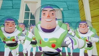 CLONE SPACE RANGER - HELLO NEIGHBOR Toy Story 4 MOD