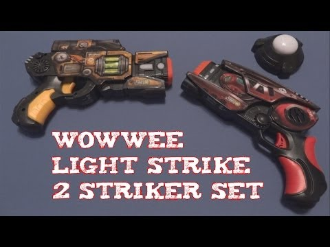 (Review) WowWee Light Strike DCP-013 & SP-144
