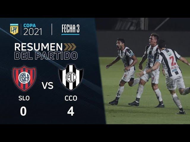 Copa De La Liga | Fecha 3 | resumen de San Lorenzo - Central Córdoba